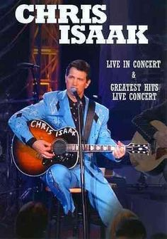 Singer/songwriter Chris Isaak performs a handful of his most well-known tunes…