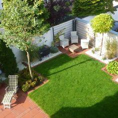 Wie kann ein kleiner Garten modern gestaltet werden? | Pinterest ...