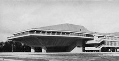 Auditorium, Delft University of Technology, Netherlands, 1969(Van den Broek & Bakema)