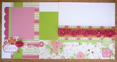 CTMH,Sophia,Helen Onulak,Kit of the Month,Scrapbook Kit,girly scrapbook pages,feminine scrapbook pages