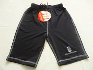 Surridge Men BaseLayer Cycling Sport Active Gym Traning Fitted Stretch Shorts S