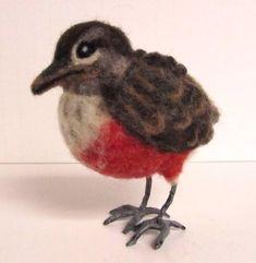 Bird Feet for Needle Felted Birds - Free Tutorial