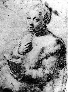 sofonisba anguissola. her self portrait. I love the Ren.