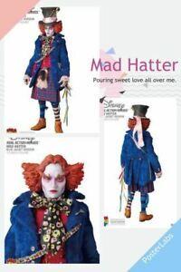 Figure Medicom Toy RAH 511 Alice in Wonderland Mad Hatter Blue Jacket Ver