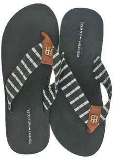 60ff39aee5f Tommy Hilfiger Assorted Patterns Women s EVA Flip Flop Sandals