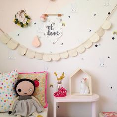 Kids room & banners by Little Olive & Co. littleoandco.bigcartel.com