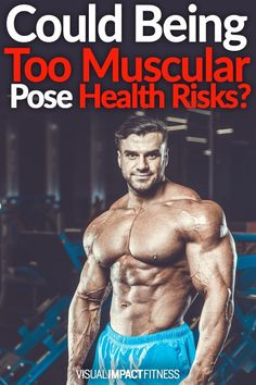 Are there any health risks to having a large amount of muscle mass? A 2016 study found that a high degree of muscle is risky even at low body fat levels. Bodybuilding Routines, Bodybuilding Quotes, Bodybuilding Recipes, Bodybuilding Motivation, Workout Plan For Men, Gym Workout Tips, Hip Workout, Workout Schedule, Workout Plans