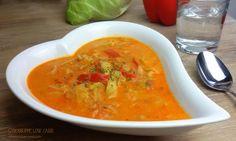 Gyrossuppe low carb Diese leckere und gut sättigenden low carb Suppe eignet sich auch prima als Partysuppe. Das Rezept ist für 4 Personen und die Suppe ist schon fast ein reichhaltiger Eintopf. Für…