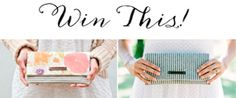 Giveaway!  Win your own WildPeace Organics clutch!