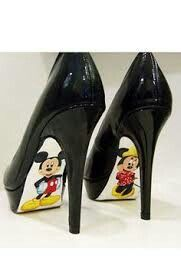 Mikey and Minnie heels