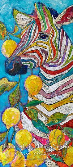 Lavender and Lemonade / 24 x 50 / $3600 / Deep boxed wood panel / email me / ejnelson@mac.com