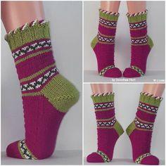 Stockings wool socks cuddly socks women's socks hand knitted 40 41 Wool Socks, Knit Mittens, Knitting Socks, Knitted Hats, Women's Socks, Knitting Patterns Free, Free Knitting, Baby Knitting, Baby Boy Booties