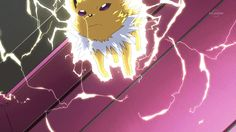 Cute Jolteon Gif. #Pokemon #Jolteon #Gifs