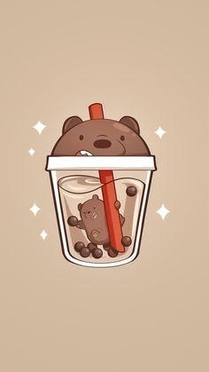 we bare bears wallpaper Cute Panda Wallpaper, Bear Wallpaper, Cute Disney Wallpaper, Kawaii Wallpaper, We Bare Bears Wallpapers, Panda Wallpapers, Cute Cartoon Wallpapers, Cute Food Drawings, Cute Animal Drawings Kawaii