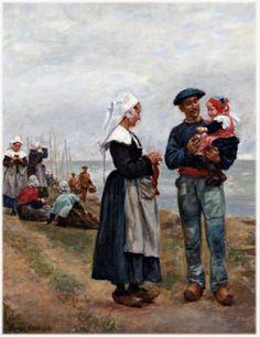 Concarneau et ses Peintres -peintres Français - Lucien Gros