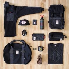 Topo Designs—Backpacks, bags, and apparel for anywhere on your map. Mochila Edc, High Fashion, Mens Fashion, What In My Bag, Edc Everyday Carry, Mens Style Guide, All Black Everything, Gentleman Style, Christmas Shopping