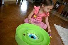 Monsters University Party Game, DIY  point toss