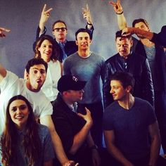 The cast. Avengers: Age of Ultron. SDCC