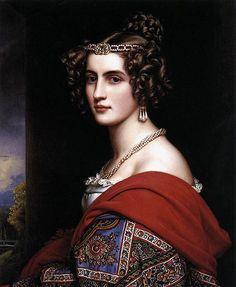 Joseph Karl Stieler, Amalie, painting