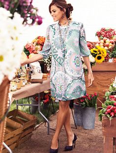 Shop Eva Mendes Collection - Sabrina Dress - Kaleidoscope Print . Find your perfect size online at the best price at New York & Company.