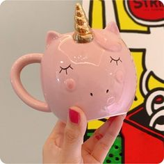 Unicorn Mug For Coffee Travel Cup Unicorn Cup Ceramic Coffee Mug Milk Cup Cute Tea Coffee Cups Drinkware Travel Cup, Coffee Travel, Coffee Beans, Coffee Cups, Unicorn Cups, Unicorn Coffee Mug, Smoothie Mix, Milk Cup, Ceramic Materials
