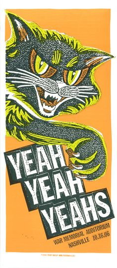 GigPosters.com - Yeah Yeah Yeahs