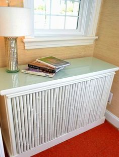 Make Your Own Radiator Covers For Extra Shelf Space