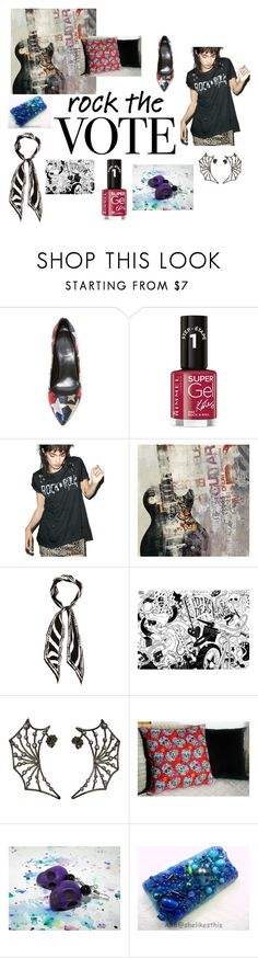 Rock Dat Vote by rocky-springs-vintage on Polyvore featuring Prince Peter, Hilfiger, Rockins and Rimmel