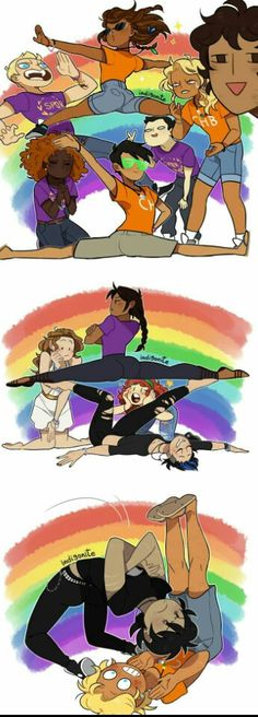 Draw the squad ( Percy Jackson )