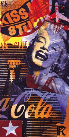 Coca Cola and Marilyn --  Paul Raynal Prints and Posters