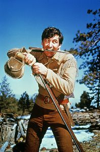Daniel Boone starred Fess Parker and Ed Ames. It ran for 165 hour long episodes from 1964 - 1970 Christopher Eccleston, Doctor Who, Fess Parker, Clint Walker, Old Time Radio, Tv Westerns, Thing 1, Old Tv Shows, 1970s
