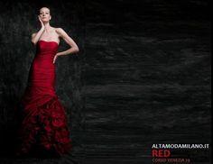 Abiti rossi capodanno 2013 2014 ALTAMODAMILANO.IT stile ed eleganza rosso Valentino