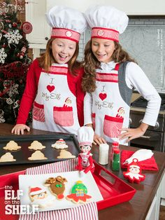 Smart Cookies! | Elf on the Shelf Ideas