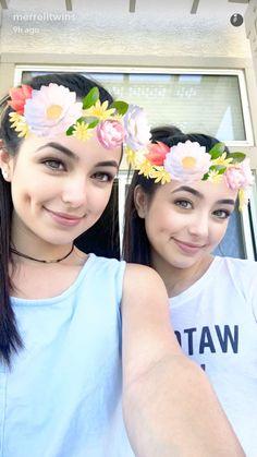 Sister Selfie | Veronica Merrell | Vanessa Merrell | Merrell Twins