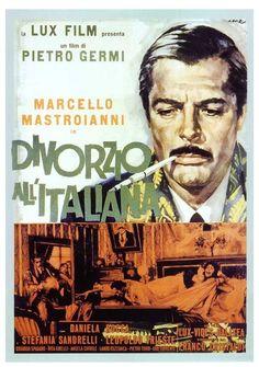 Divorzio all'italiana di Pietro Germi con Marcello Mastroianni, Daniela Rocca e Stefania Sandrelli