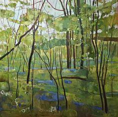 Elaine Kazimierczuk  Bluebells in Ploughman Wood