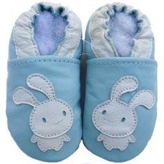 "Zapatos de gateo ""Conejitos"" /   Crawing shoes"