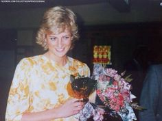 January 31, 1988: Princess Diana at Gosford, New South Wales for the Bicentenary Celebrations