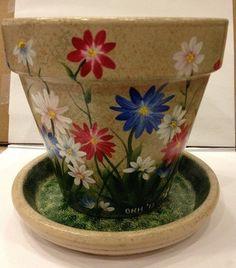 Hand Painted Flower Pot Bunny Hop Hollow Originals http://www.amazon.com/dp/B00CLV4ZIY/ref=cm_sw_r_pi_dp_sByUub1YS5NSF