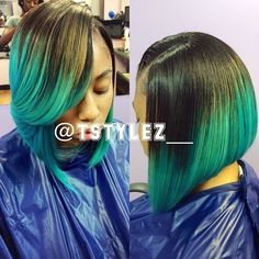 Tia Mi'quel @tstylez__ | Websta (Webstagram) Colored Weave Hairstyles, Sew In Hairstyles, Cute Hairstyles For Short Hair, Pretty Hairstyles, Short Hair Styles, Natural Hair Styles, Amazing Hairstyles, Bob Styles, Black Hairstyles