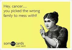 Hey cancer