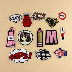 Gratis verzending 13 stks/partij Cartoon brief/meisje patches DIY patch stickers aangebracht decoratieve accessoires hoed kleding in New arrival 26 pcs/lot mixed 26 styles English letter Iron On embroidery Patches garment Appliques free shipping USD 3.5 van   op AliExpress.com   Alibaba Groep