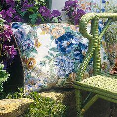 Chintz Blue - Ehrman Tapestry