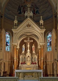 Saint Anthony of Padua Roman Catholic Church, in Saint Louis, Missouri, USA - baldachino | Flickr - Photo Sharing!
