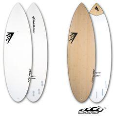 "Firewire Surfboards: The Dominator. Summer slush slayer. 5'6"" x 19 3/4"" x 2 3/8"" Round Tail (28.4 Litres)"