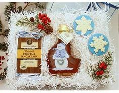 Arctic Frost Maple Syrup and Pancakes Gift Box #WisconsinMade
