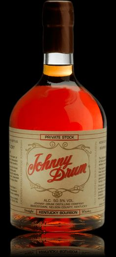 Johnny Drum Private Stock. Seriously the most amazing bourbon I've ever had. #bourbon