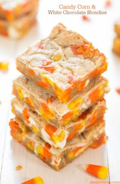 Last year about this time I made Candy Corn and White Chocolate Cookies. Until I posted them, I...