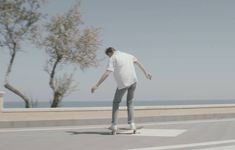 Pizza and skateboarding in the streets of Calabria