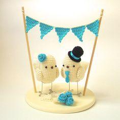 wedding cake topper - too cute!